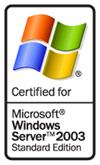 Certified for Windows Server